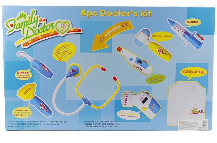Набор доктора с халатом  9911BC