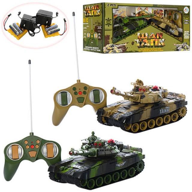 Игровой военный набор Танковый бой 9993
