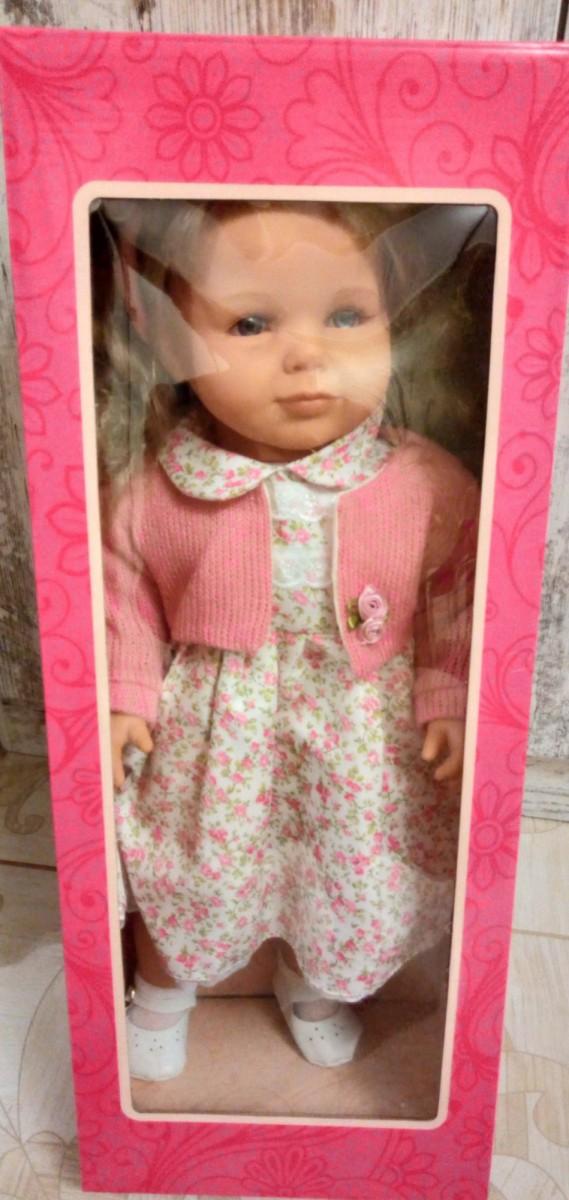 Кукла Амалия М 1528 рус-англ. язык, 53 см