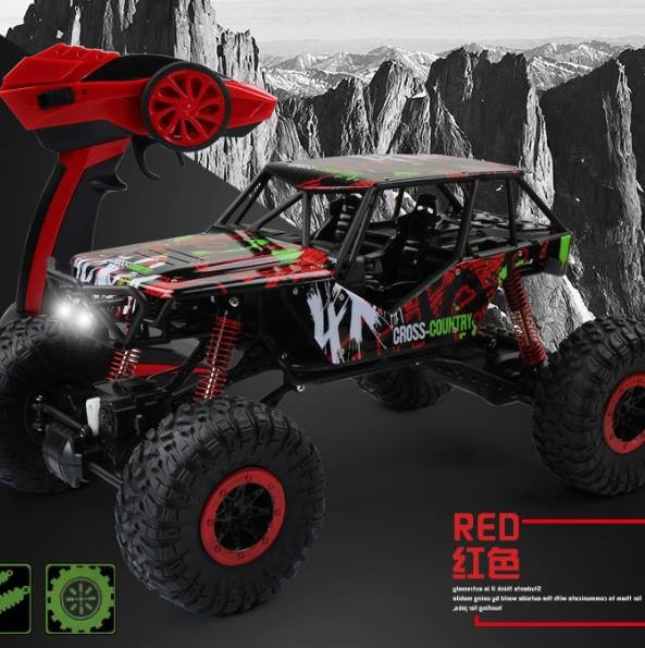 МАШИНА  Rock Crawler Красный HB-P1001