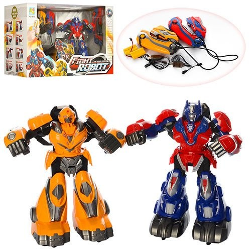 Роботы Боксёры Оптимус и Бамблби ( 2 шт ) KD-8813