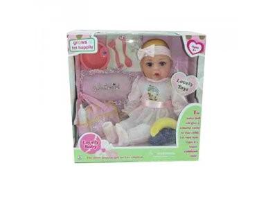 Кукла Пупсик мягконабивной 40 см звук с аксессуарами 60668-84