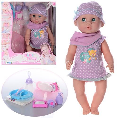 Кукла пупс Baby Born Baby Toby 30518 15 функций