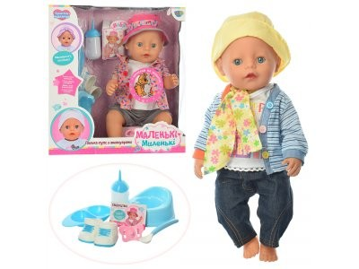 Кукла пупс Маленькi-Миленькi аналог Baby Born 915-BG