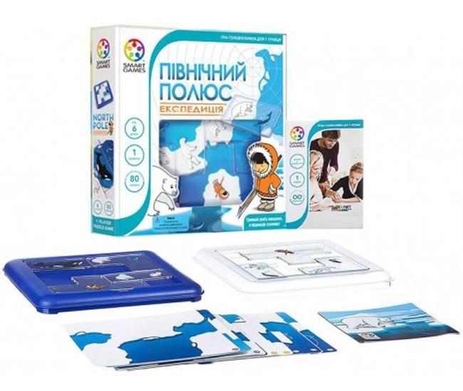 Головоломка Smart Games Северный полюс. Экспедиция