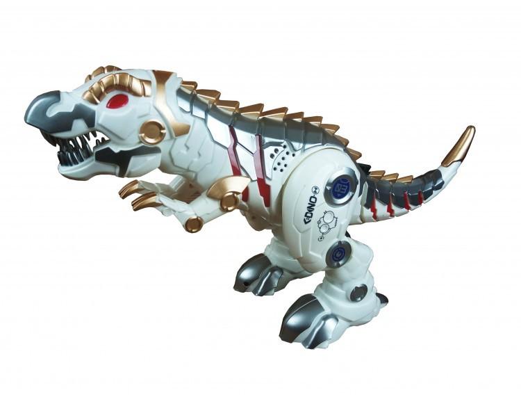 Динозавр SS858  аккумулятор, ходит, танцует, свет, НА Р/У