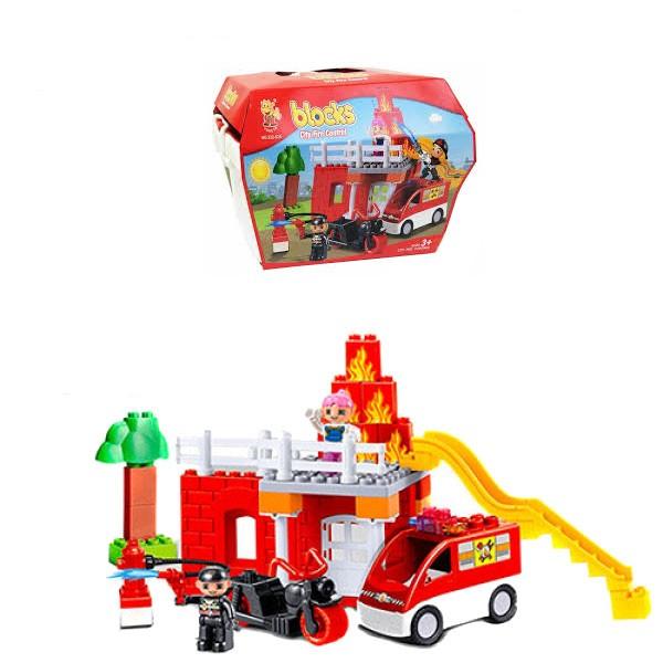 Конструктор Пожарная служба 222-S24