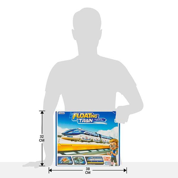 Конструктор СИС 21-633 поезд на магнитной подушке