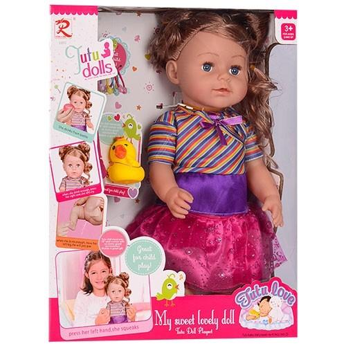 Пупс кукла 42 см сестра беби берн (baby born) с аксессуарами