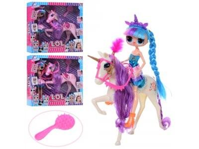 Кукла 11802B  LOL, шарнирная,