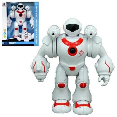 Робот 6031 ходит, стреляет, звуковые эффекты, подсветка