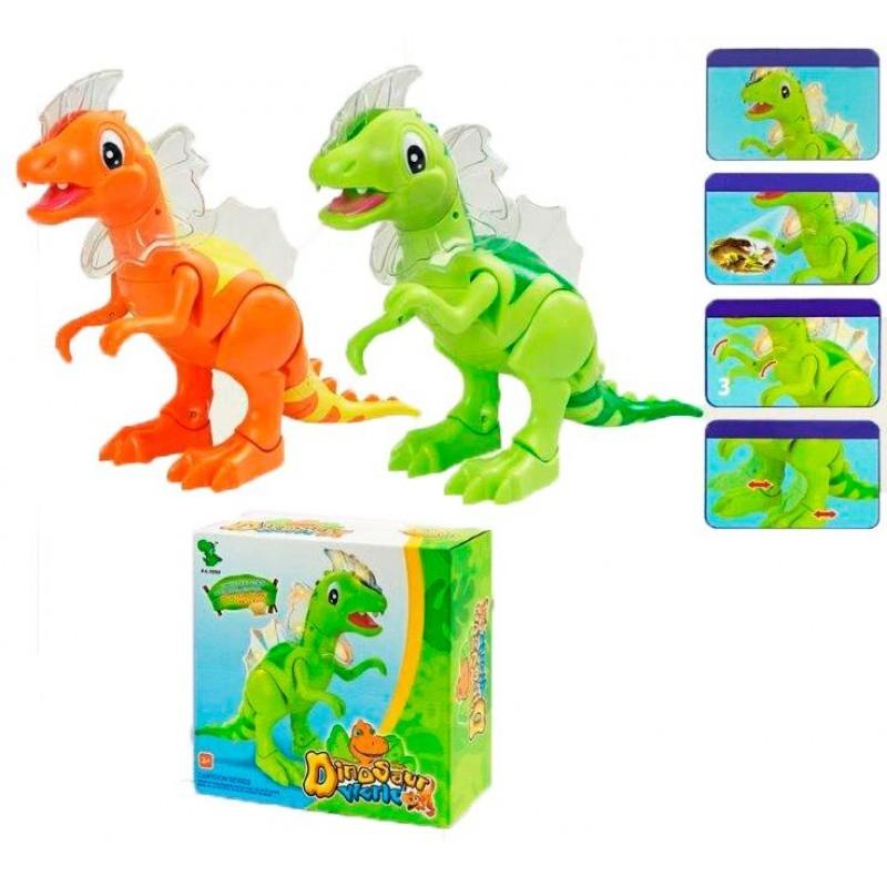 Динозавр 1016 А рычит, подсветка, ходит