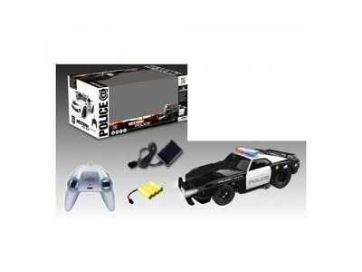 Машина 70599BP полиция 2,4G, 28см, звук, свет на р/у