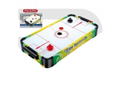 Хоккей 3003B  воздушный, деревян, 68-36,5-9,5см, на бат-ке,
