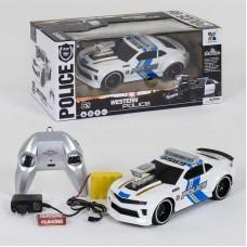Машина 69599Р  полиция  свет, звук  на р/у