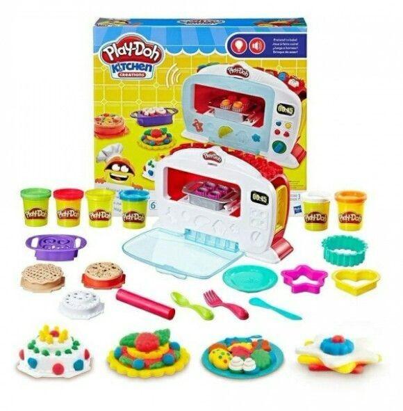 """Игровой Набор с тестом  для лепки Play-Doh """"Волшебная печь"""" 6621"""