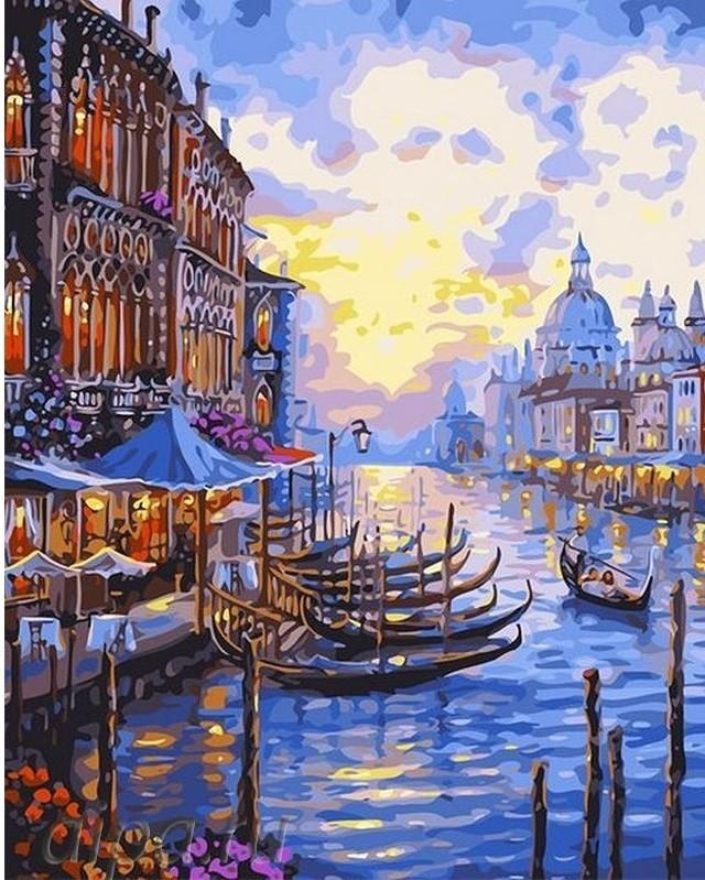 "Картина по номерам. Brushme ""Венецианский пейзаж"" GX30326"