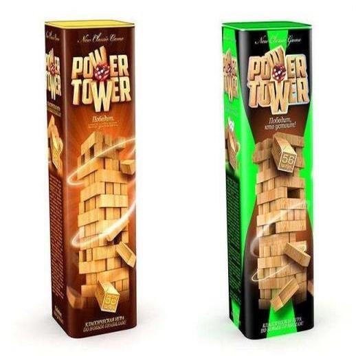 """НАСТОЛЬНАЯ ИГРА 7802DT VEGA """" POWER TOWER"""""""