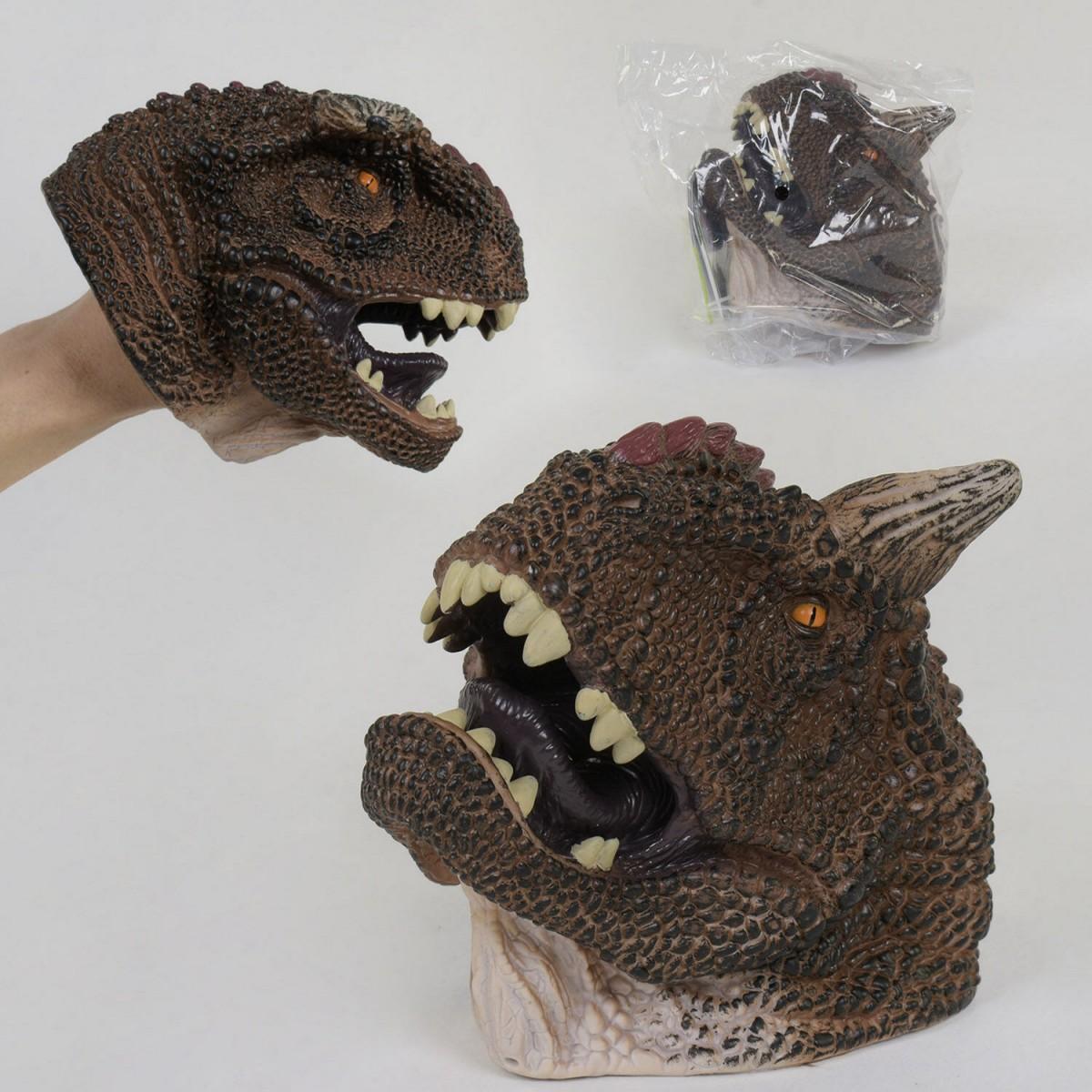 Голова Динозавра Х 315 надевается на руку, в кульке