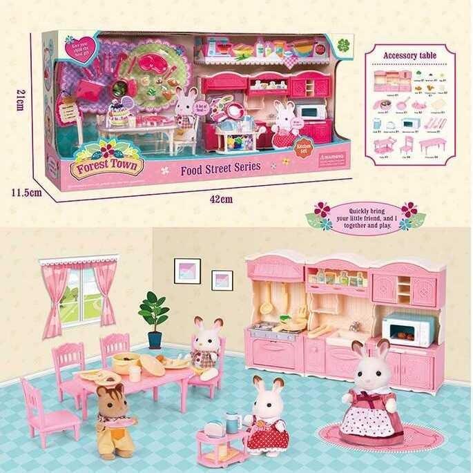 Набор мебели 15118 Счастливая семья Кухня