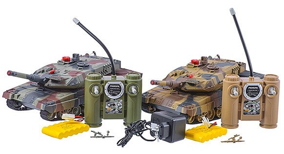 Танковый бой HUAN HQ558N свет, звук на р/у