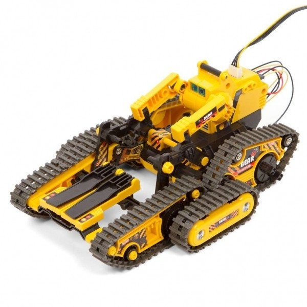Конструктор СIС 21-536 Робот -вездеход на батарейках