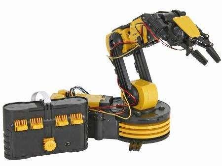 Конструктор CIC 21-535N Робот-манипулятор на батарейках