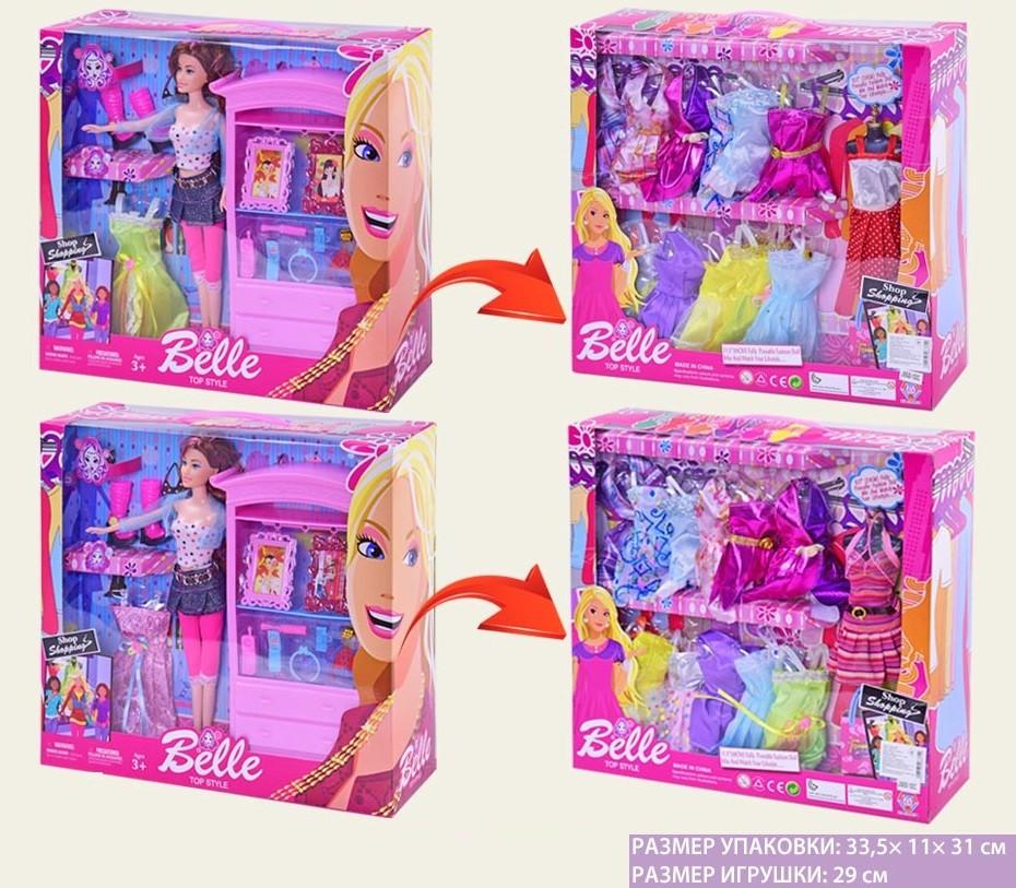 """Кукла типа """" Барби """"  JX600-100C"""